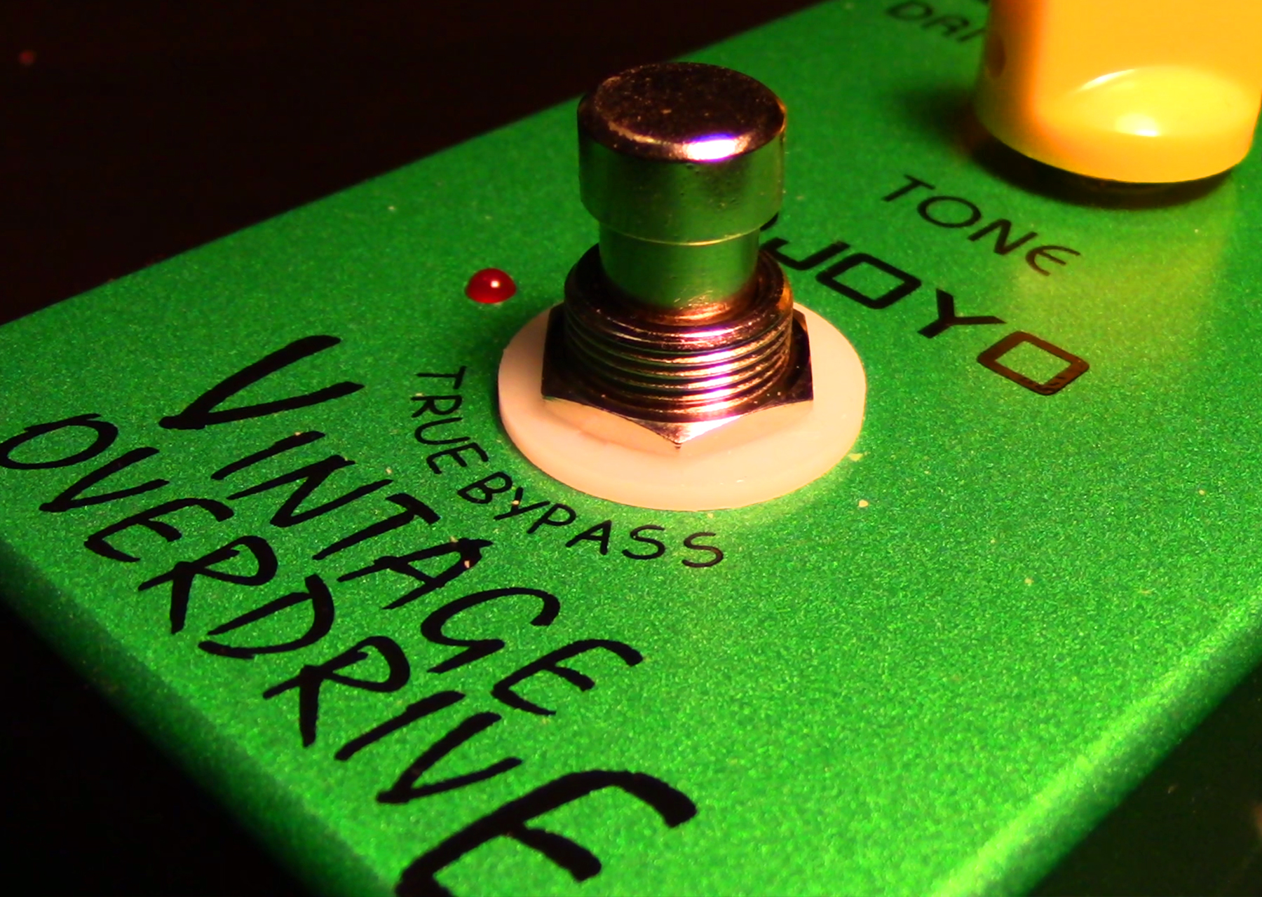 Joyo JF-01 Vintage Overdrive Pedal | Gear Review – Agufish Music