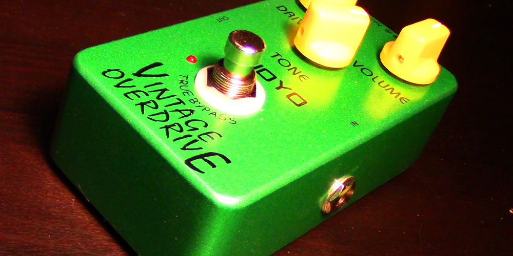 Joyo JF-01 Vintage Overdrive Pedal   Gear Review – Agufish Music