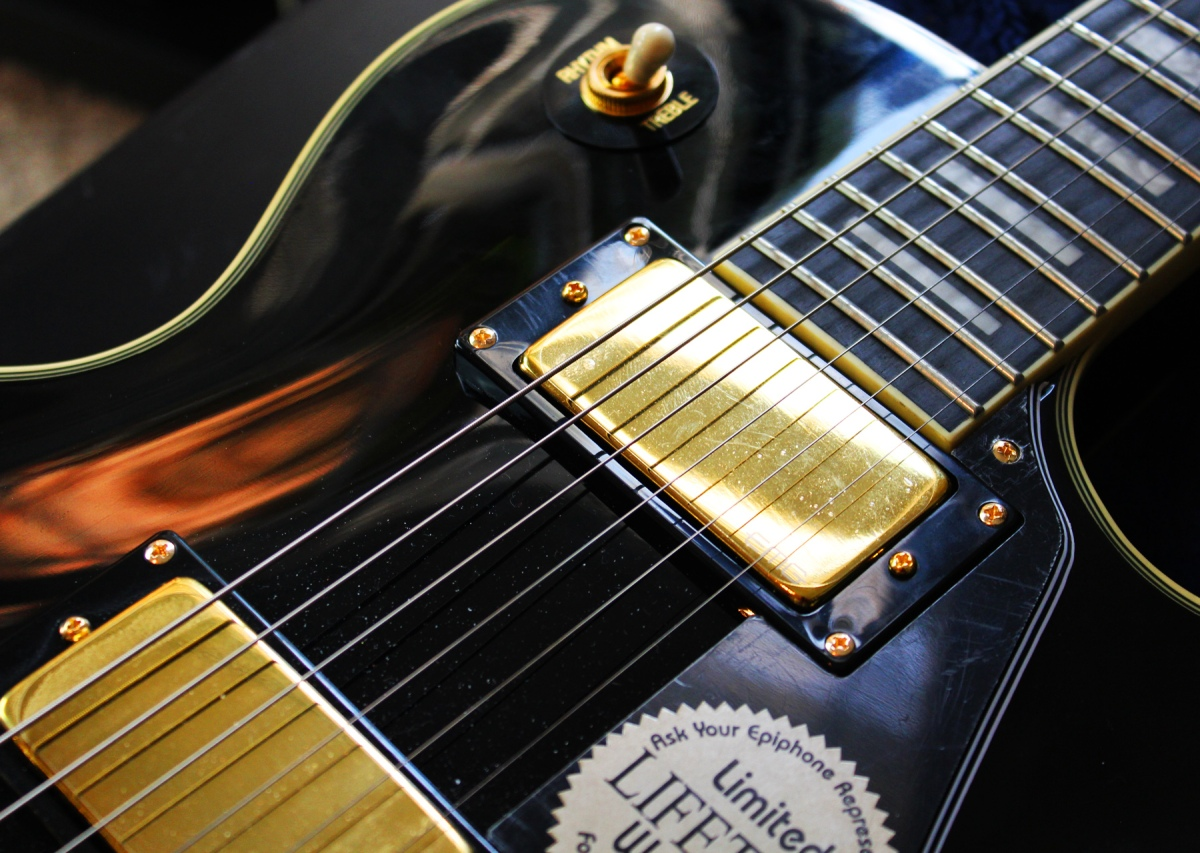 epiphone bjorn gelotte signature les paul custom guitar review agufish music. Black Bedroom Furniture Sets. Home Design Ideas