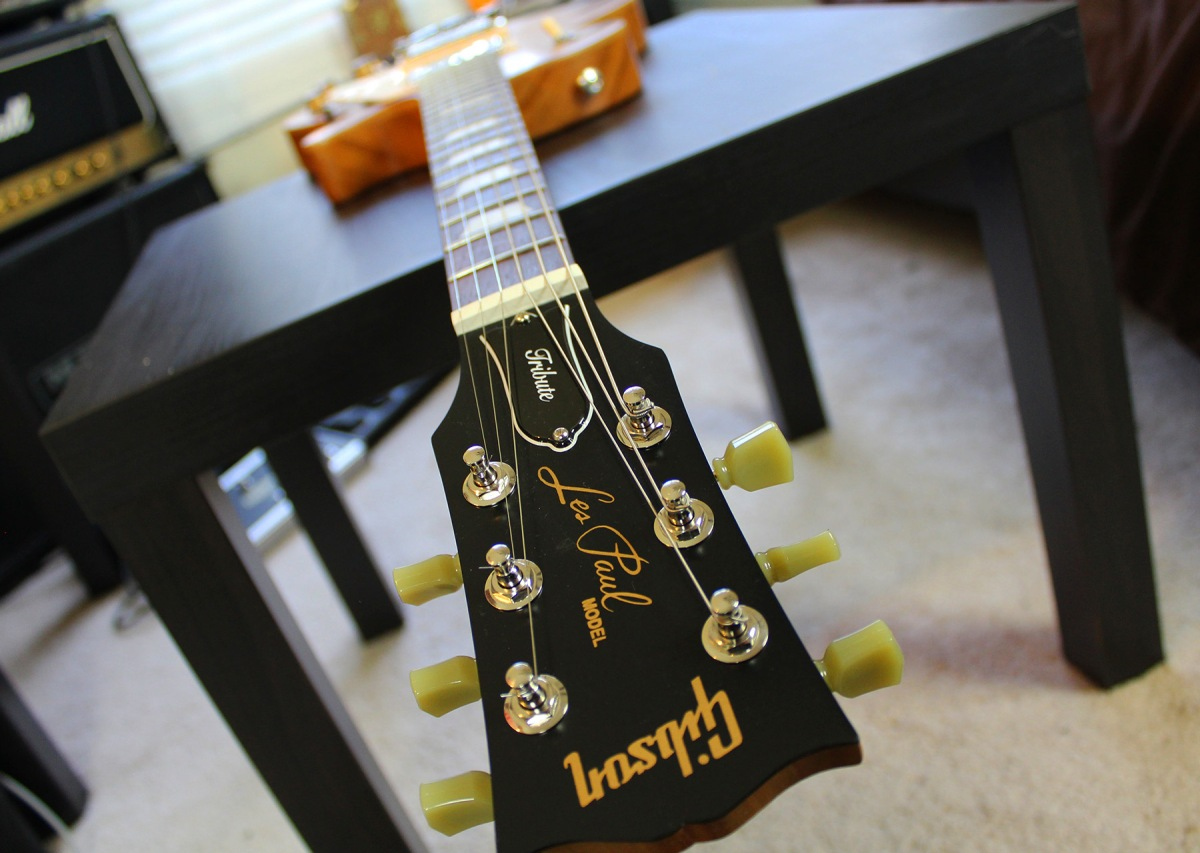 gibson 2017 les paul tribute t guitar review agufish music. Black Bedroom Furniture Sets. Home Design Ideas
