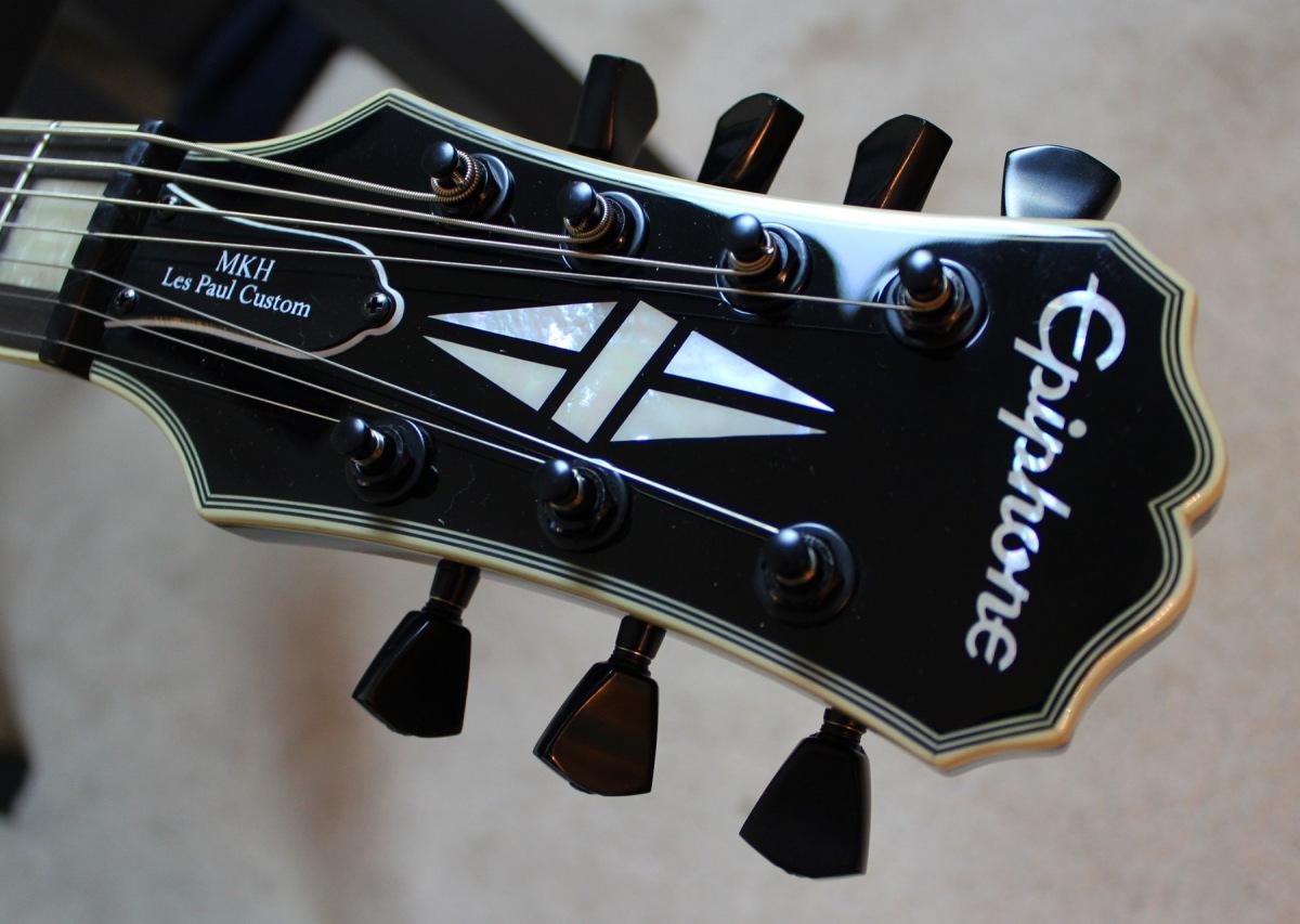 epiphone matt heafy les paul custom 7 guitar review agufish music. Black Bedroom Furniture Sets. Home Design Ideas